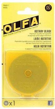 Olfa Rotary Blades 60mm Refill 1 Blade