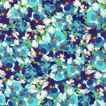 Painterly Petals Evening SRKD-20264-80 Robert Kaufman