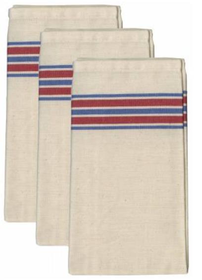 Americana Stripe Herringbone Towel