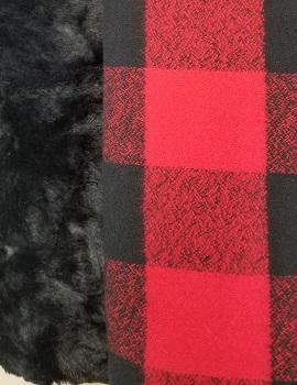 Buffalo Plaid Cuddle Quilt Kit 4