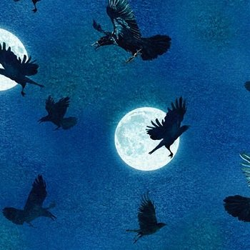 Raven Moon Spooky AWHD-18485-282 Robert Kaufman