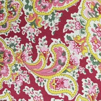 Wide Backing 108 Quilt Back Benartex Rosemont Claret color 10 100% cotton