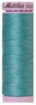Mettler Silk Finish Cotton Thread Blue Green 0611