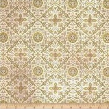 Eclectic Elements by Tim Holtz Wallflower Tiled green