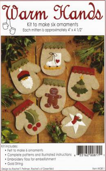 Warm Hands Christmas Ornaments Kit