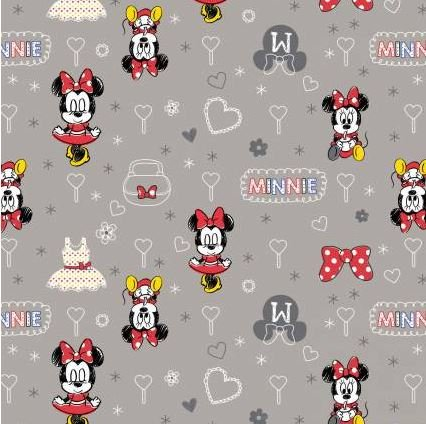Zinc Minnie Mouse