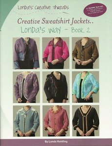 Creative Sweatshirt Jackets...Londa's Way-Book 2 - Printed