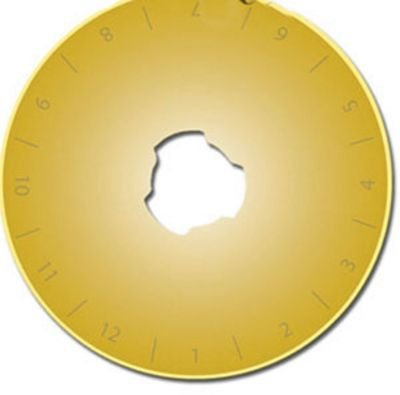 Roll The Gold Titanium Rotary Blade from Euro Notions - 10 blade  package