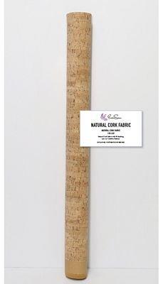 Natural Cork Fabric 1/2 yard x 27 wide