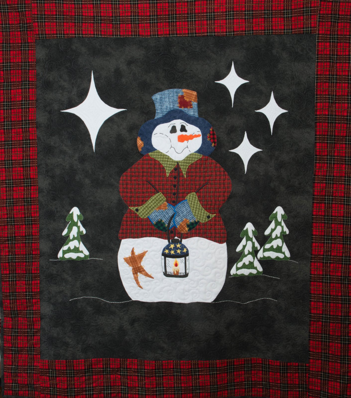 A Frosty Night - Applique'