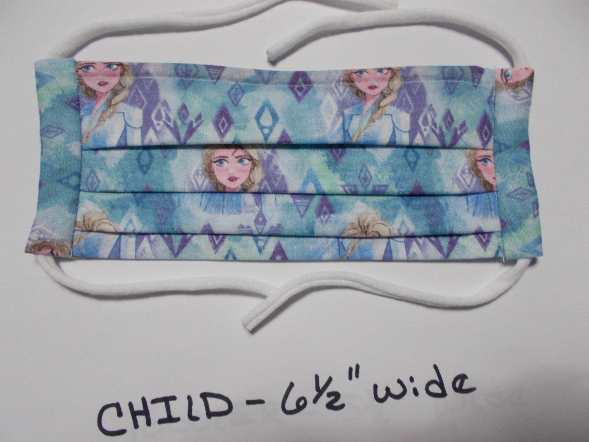 Child Frozen Face Mask