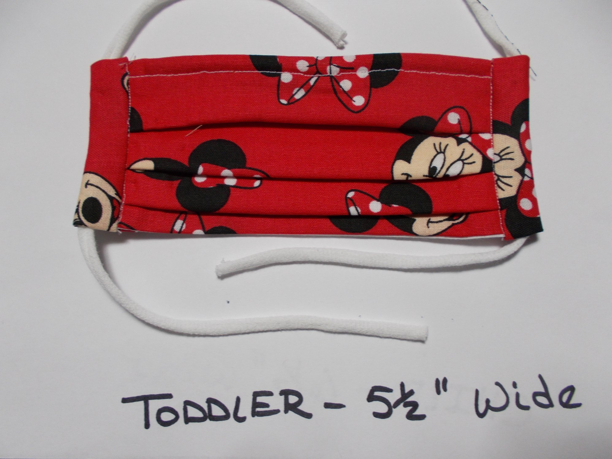 Toddler, Minnie Mouse Red