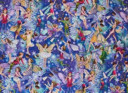 Enchanted Fairy Allover Print - 10910