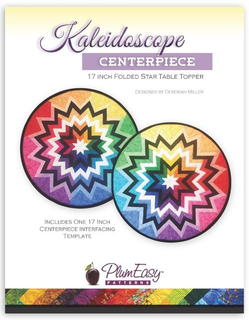 Plum Easy 17 Kaleidescope Centerpiece pattern