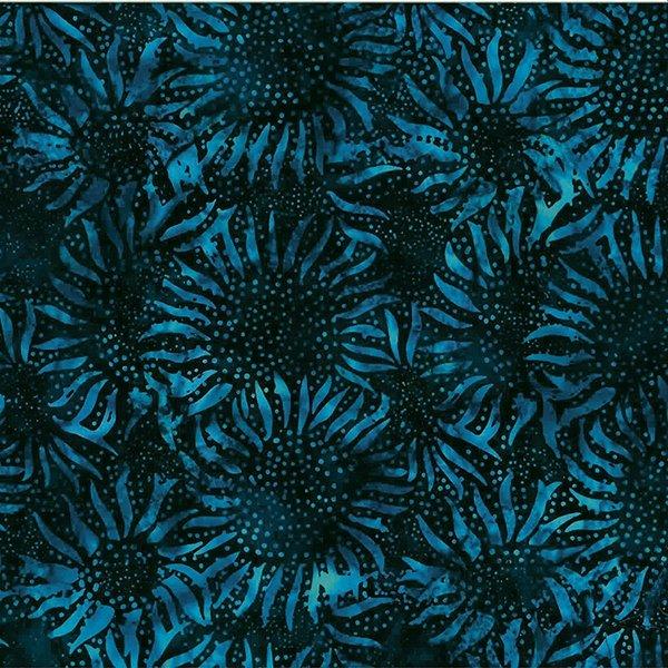 Hoffman 884-19 Navy Sunflowers