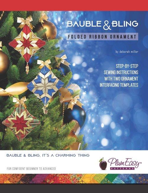 Plum Easy Bauble & Bling Pattern