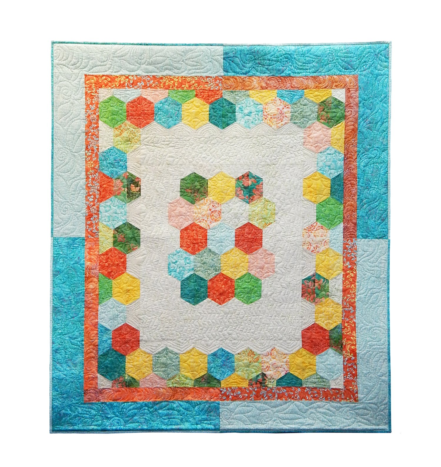 Plum Easy Boston Uncommon Lap Quilt pattern