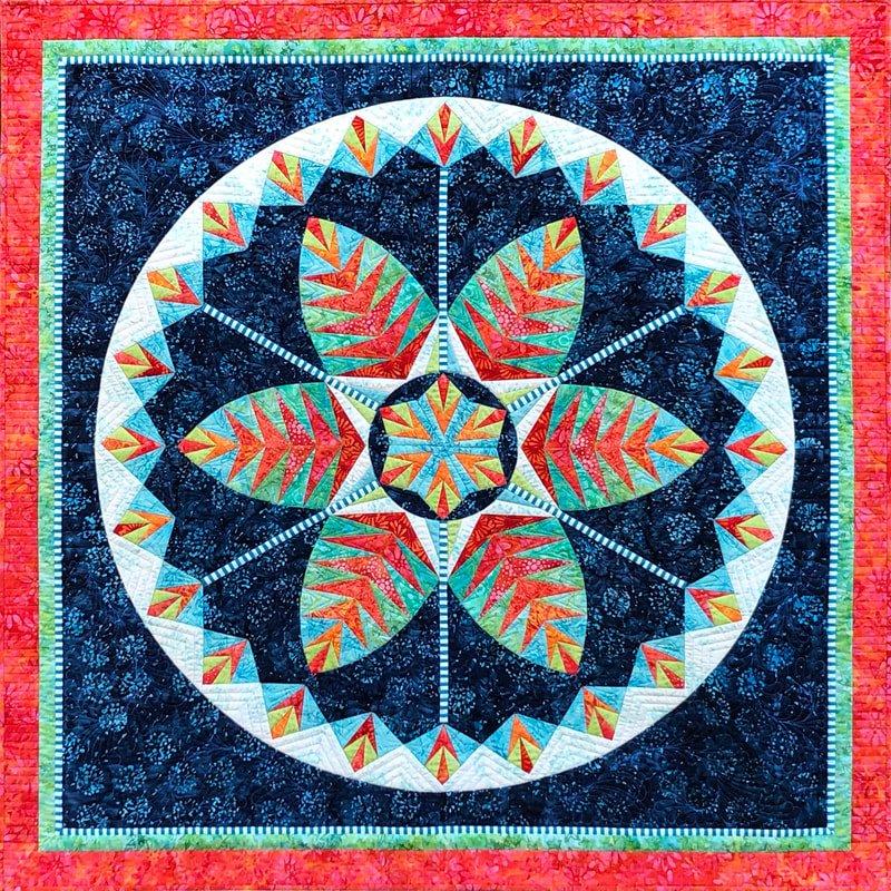 Be Colourful Botanica pattern