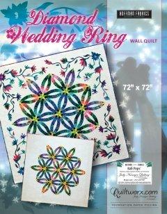 Quiltworx Diamond Wedding Ring pattern