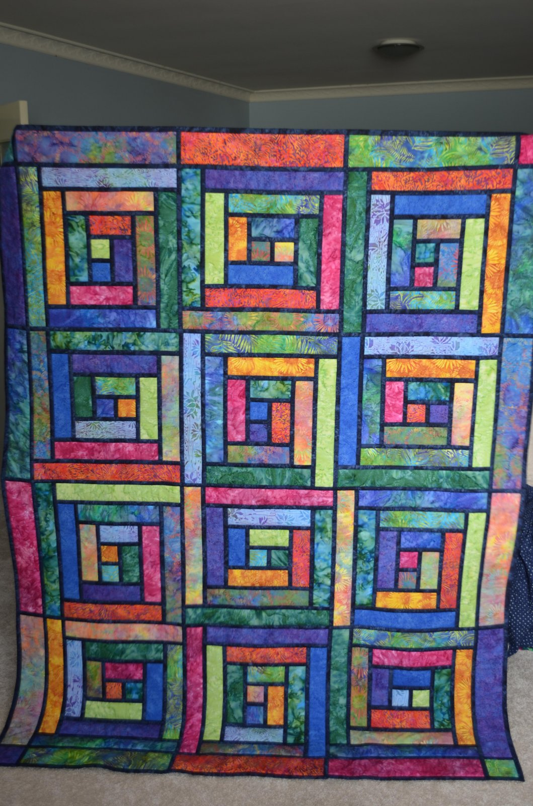Stained Glass Batiks pattern