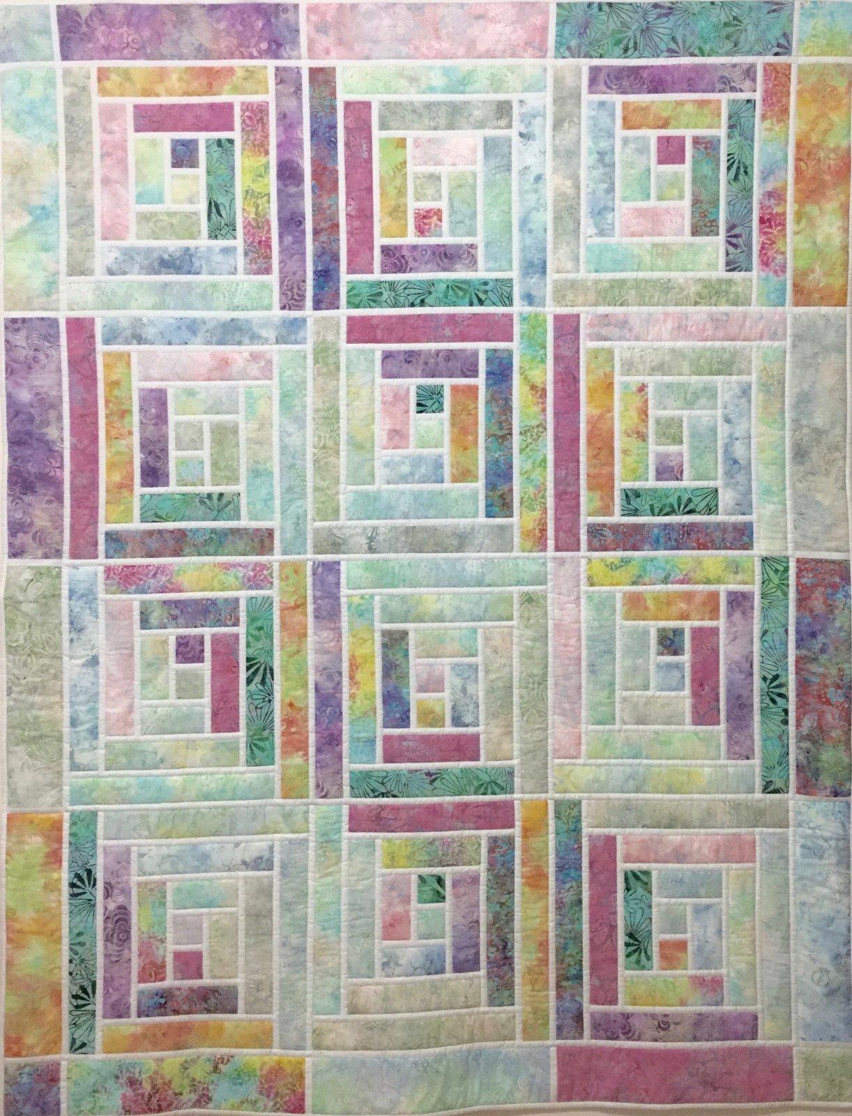 Iced Batiks pattern & kit