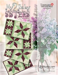 Quiltworx My Two Baby Sisters Placemats pattern