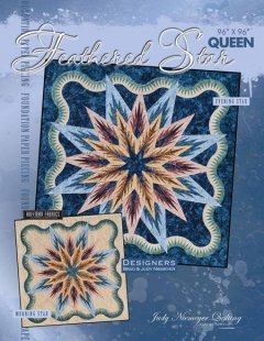 Quiltworx Feathered Star Queen pattern