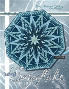 Quiltworx Feathered Snow Flake Tree Skirt pattern