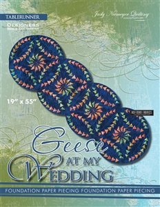 Quiltworx Geese at my Wedding table runner pattern