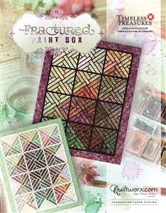 Quiltworx Fractured Paint Box pattern