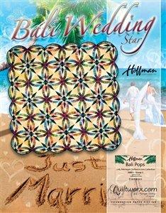 Quiltworx Bali Wedding Star pattern