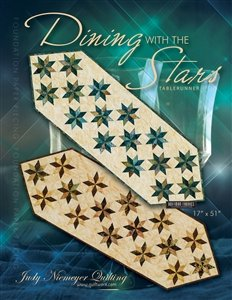Quiltworx Dining with the Stars Table Runner pattern