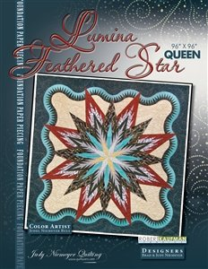 Quiltworx Lumina Feathered Star pattern
