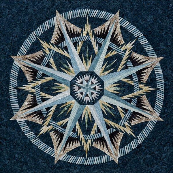 Quiltworx Mariner's Compass pattern