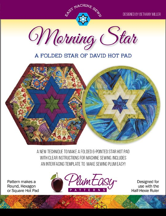 Plum Easy Morning Star Hot Pad Pattern