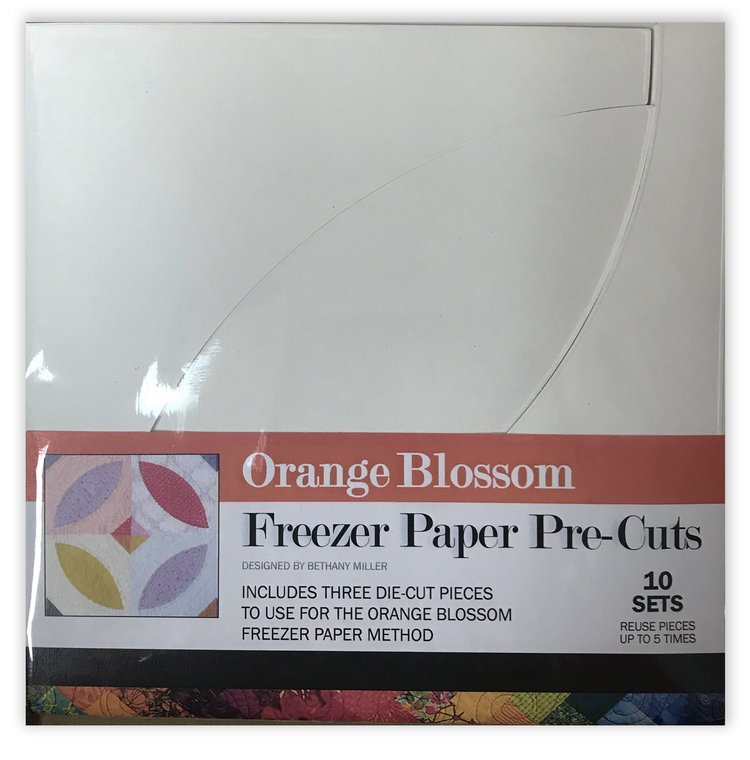 Plum Easy Orange Blossom Freezer Paper pre-cuts