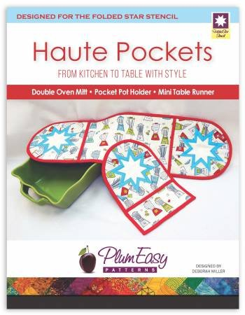Plum Easy Haute Pockets Oven Mitt pattern