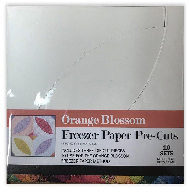 Plum Easy  Die Cut Freezer paper for Orange Blossom pattern