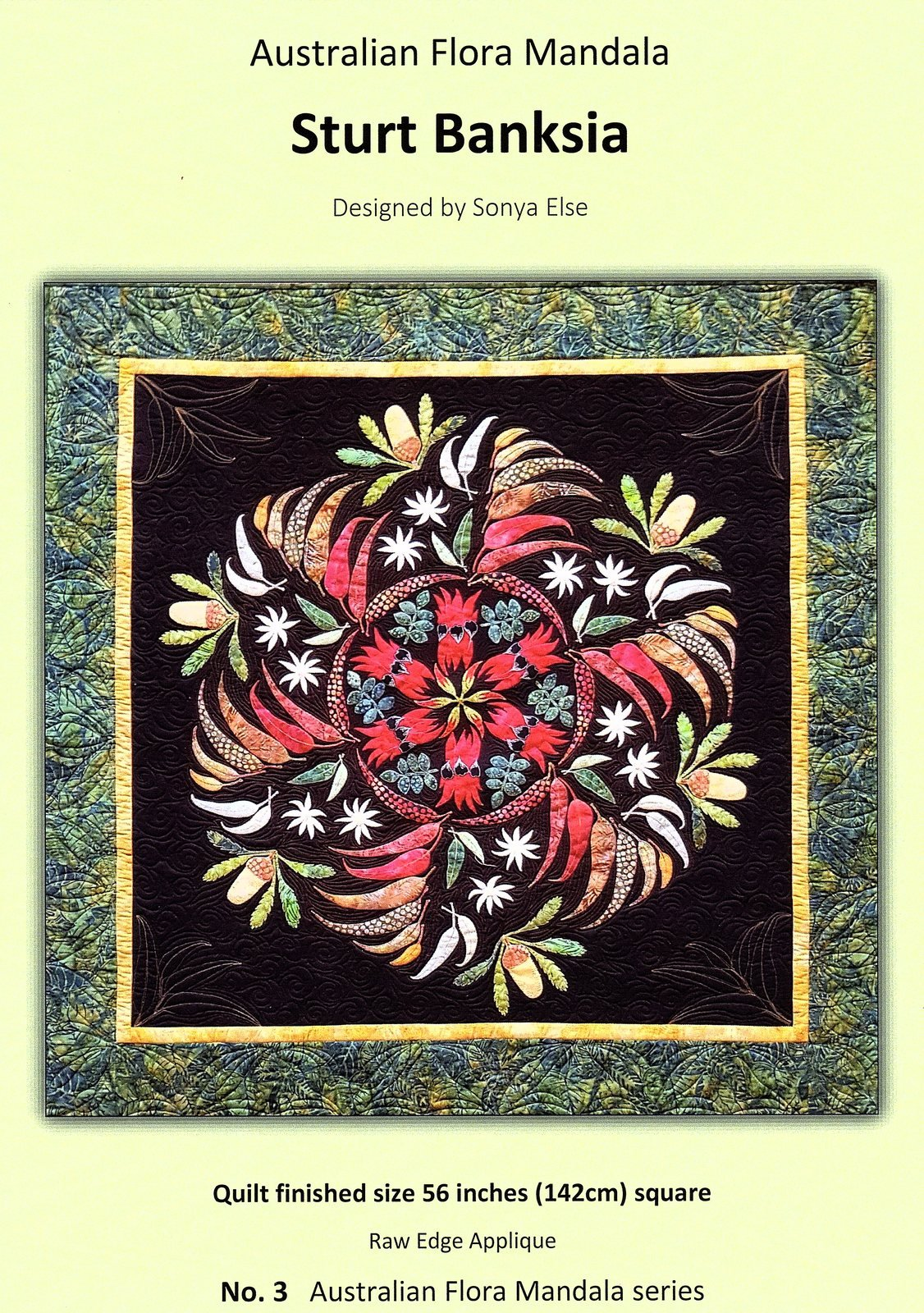 Sturt Banksia Applique kit