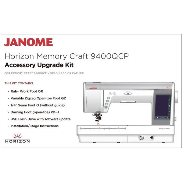 9400QCP Accessory Upgrade Kit