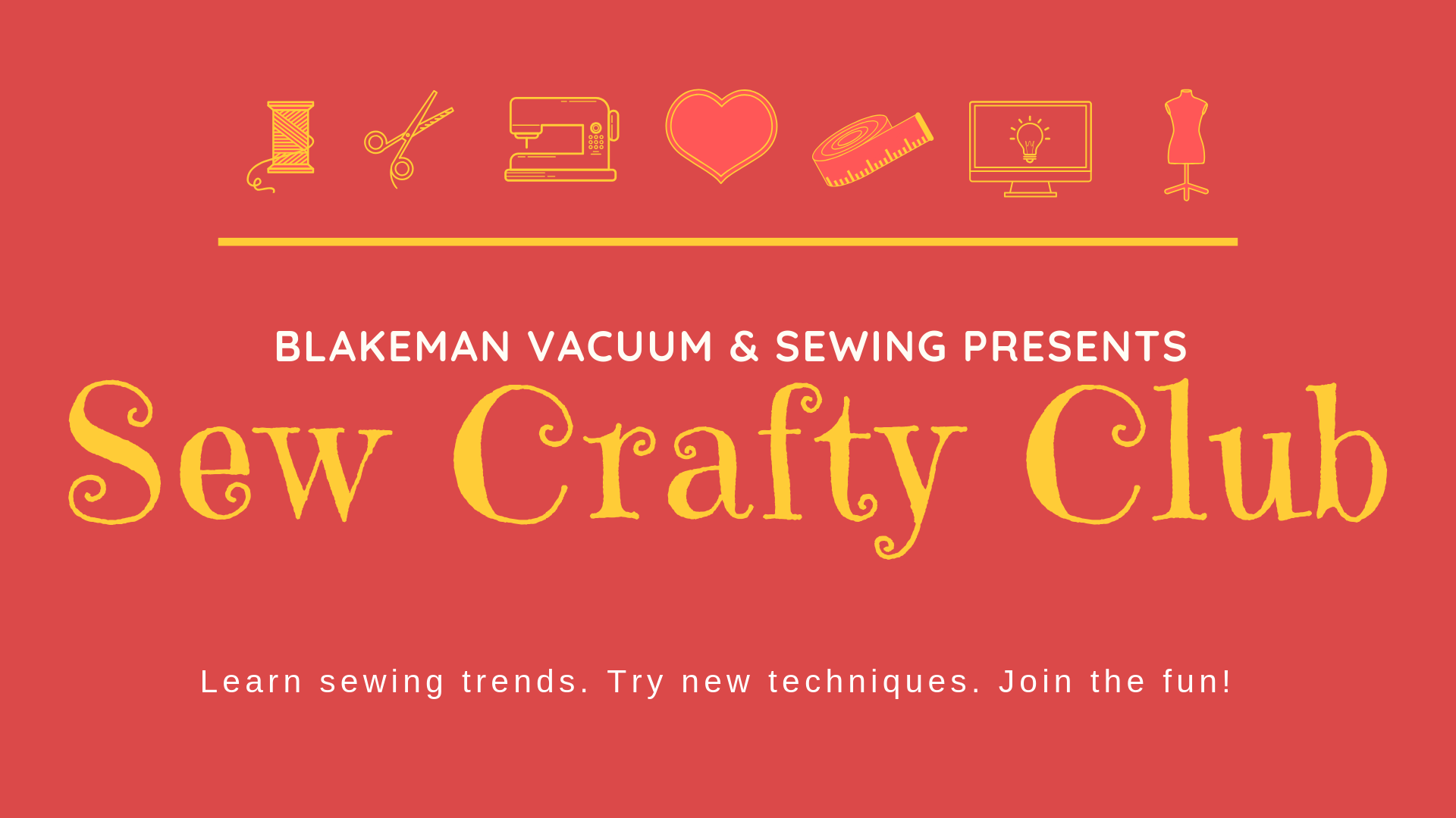 Sew Crafty Club 2019 Annual Membership