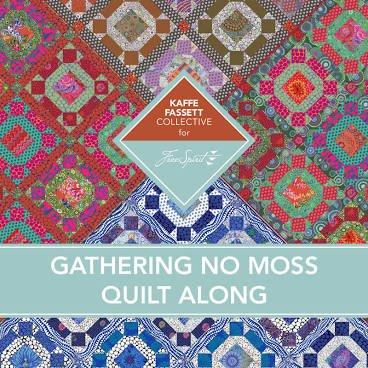 Kaffe Gathering No Moss - Quilt Along