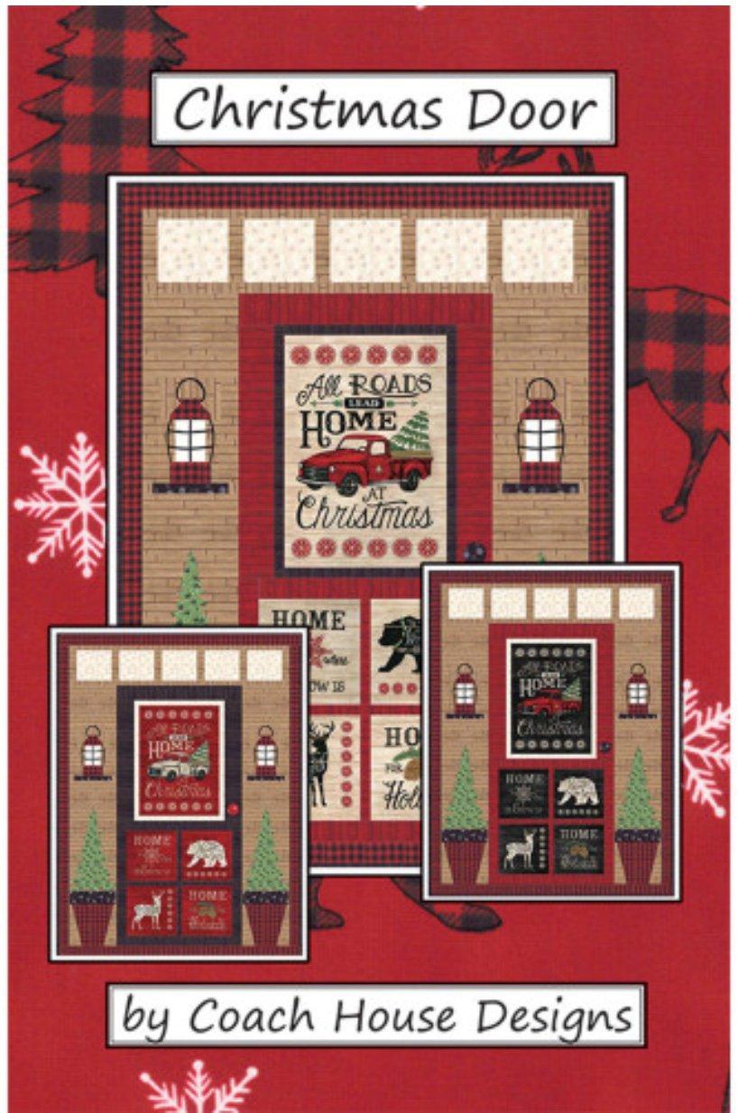 Kit Christmas Door Black/Red