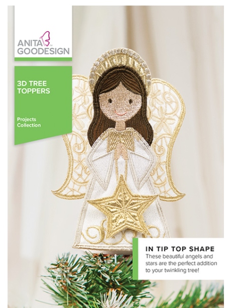 CD AG 3D Tree Toppers