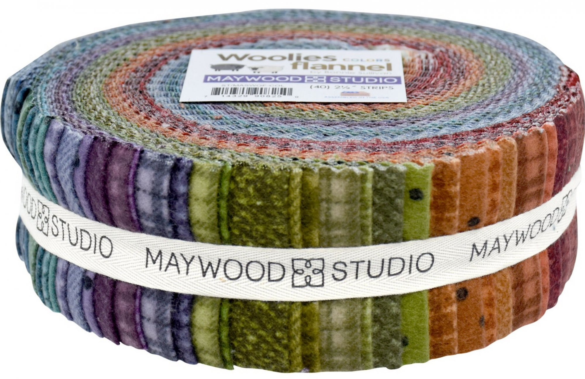 JELLY ROLL WOOLIES/40 (Col)