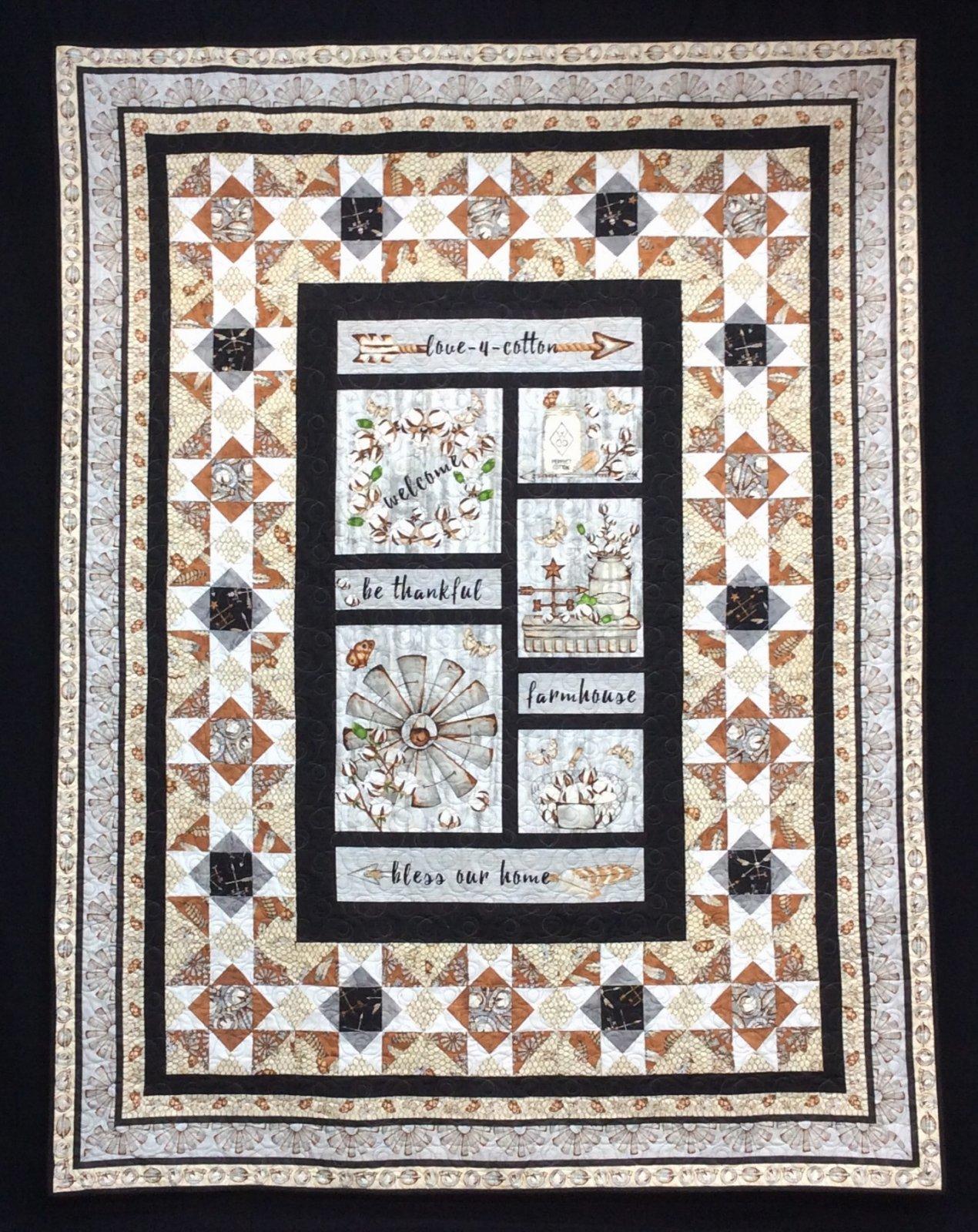 Kit Love for Cotton Quilt 1