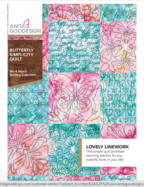 CD AG BUTTERFLY SIMPLICITY QUILT