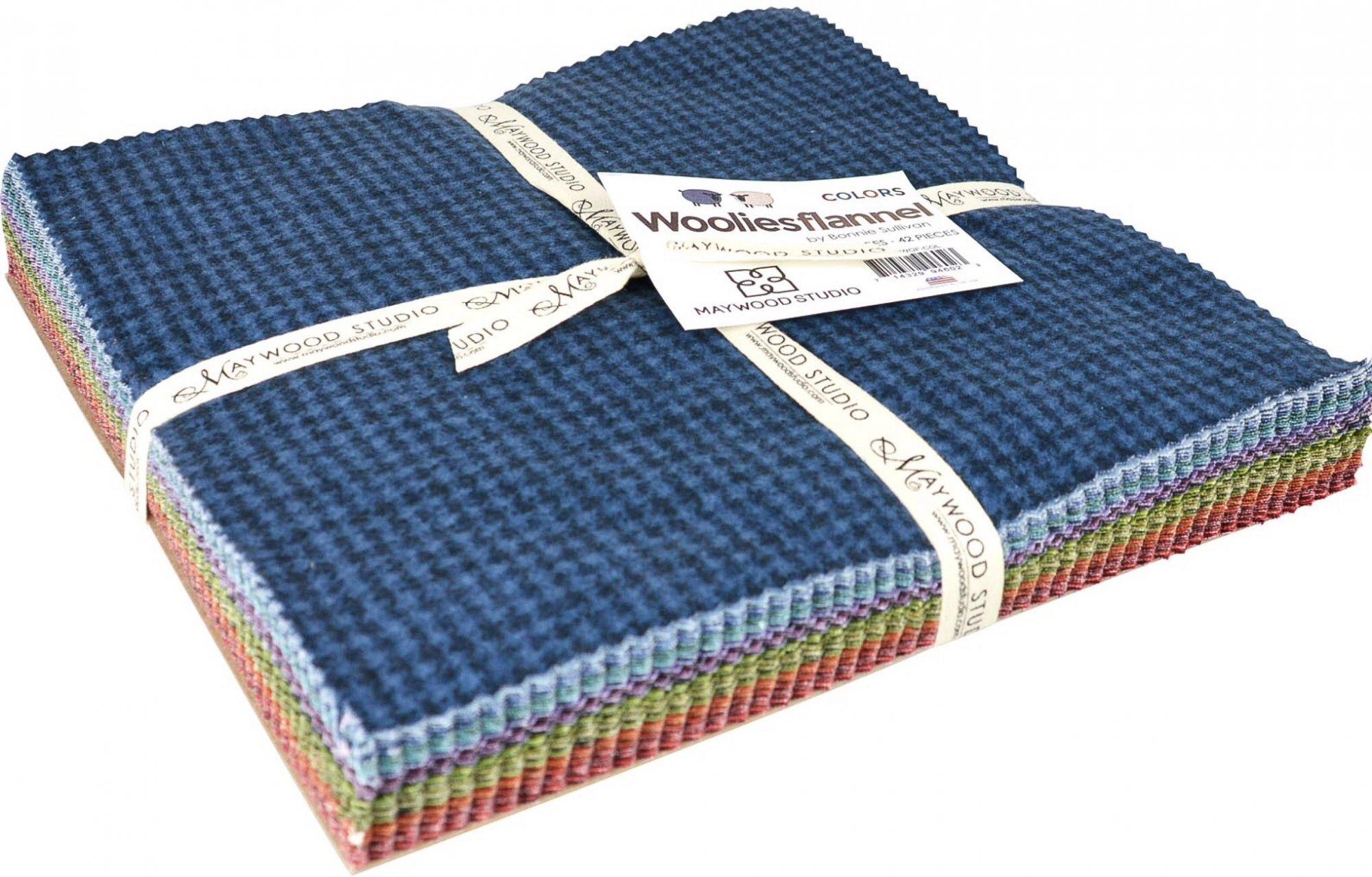Woolies 10 Flannel Colors