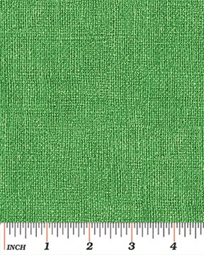 BURLAP BRIGHT GREEN