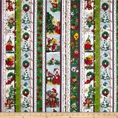 Suzy's Christmas Border Stripe